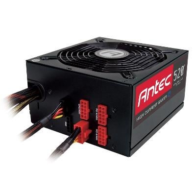 Antec 520M, 80 Plus Bronze, 520 Watt Power Supply With Thermal Manager And 10-Pin Sockets