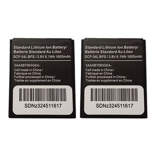 Battery for Kyocera SCP54LBPS (2-Pack) Replacement Battery