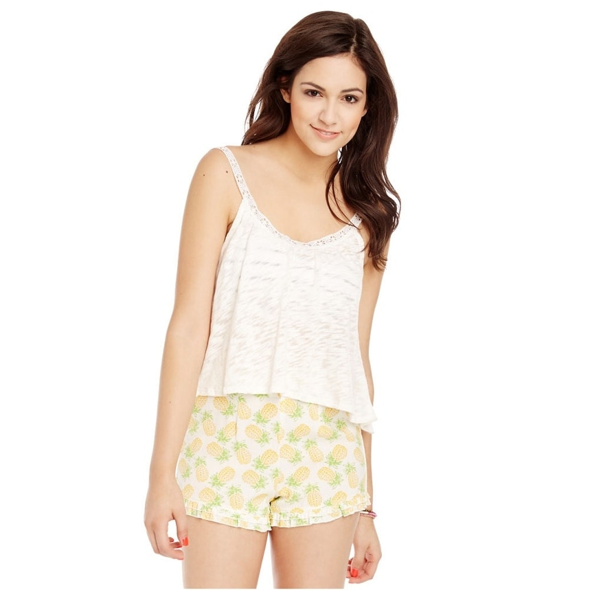 Aeropostale Womens Cropped Cami