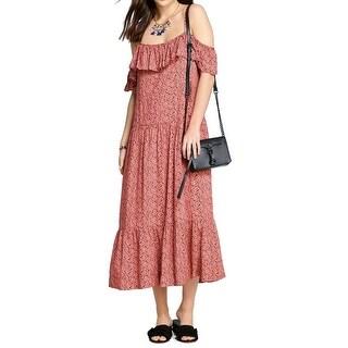 Rebecca Minkoff Womens Printed Lapaz Maxi Dress
