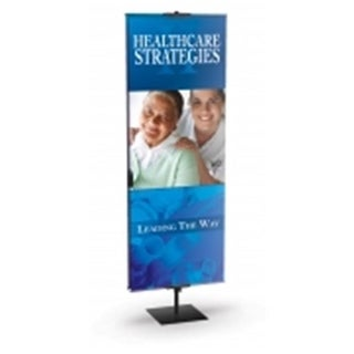 Testrite Visual Products BN1 Classic Banner Stands