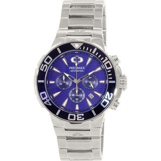 Precimax Men's Instinct Pro PX14009 Silver Stainless-Steel Plated Fashion Watch