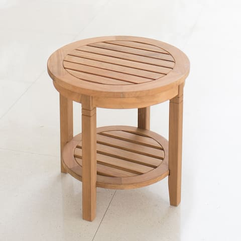 Cambridge Casual Sherwood Teak Patio Side Table