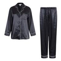 Shop Classic Men s 2-piece Satin Pajamas Set - Free Shipping On ... aa9b84d2b