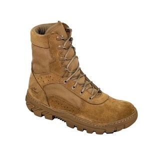 Thorogood Work Boots Mens War Fighter Leather Lace Up Tan 813-8800