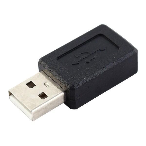 Unique Bargains 5 pin (B5) Mini Female to USB A Male Connector Adaptor