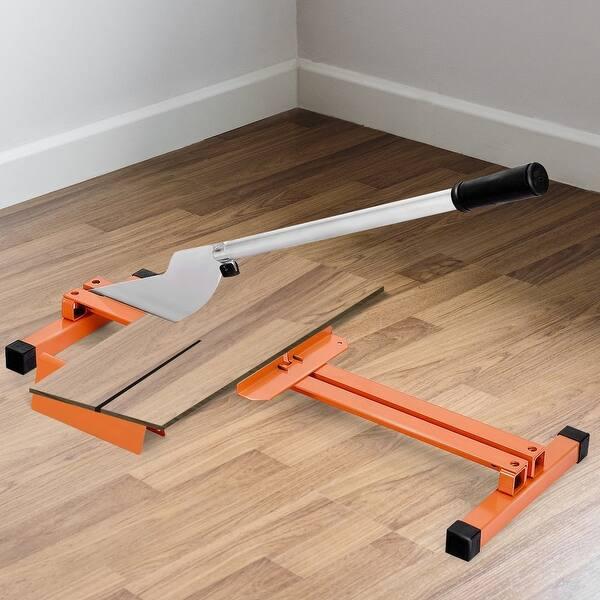 Shop Laminate Flooring Cutter Hand Tool V Support Heavy Duty Steel