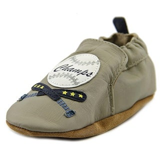 Robeez Champ Round Toe Leather Loafer