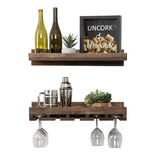 "Link to Del Hutson Designs Rustic Luxe Wine Set, 24"" Similar Items in Kitchen Storage"