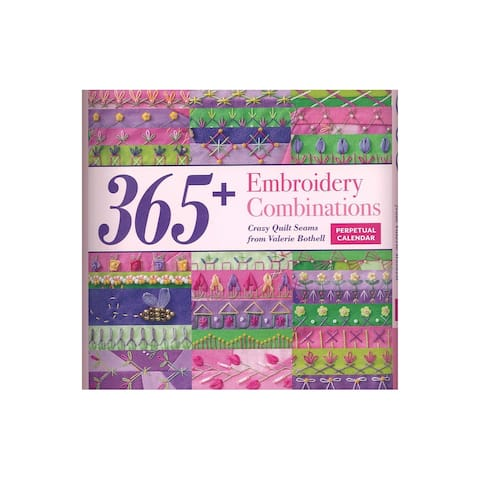 C&T Embroidery Combinations Perpetual Calendar