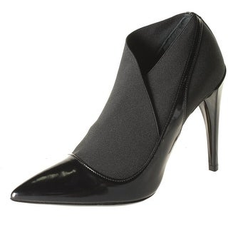 Christian Dior Womens Defile Leather Pointed Toe Booties