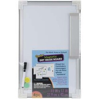 """Magnetic Dry Erase Board 11""""X17""""-"""