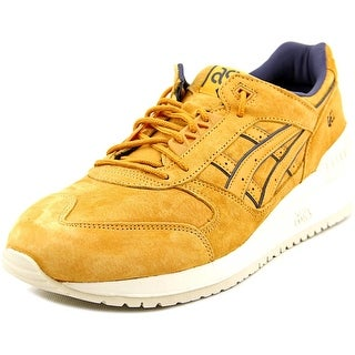 Asics Gel-Respector Men Round Toe Suede Tan Sneakers