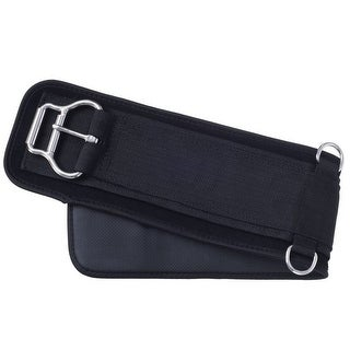 Tough-1 Girth Snuggit Double Roller Buckle Waffle Weave