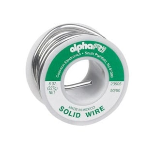 Alpha 23505 Non Electrical Solid Wire Solder, 8 Oz