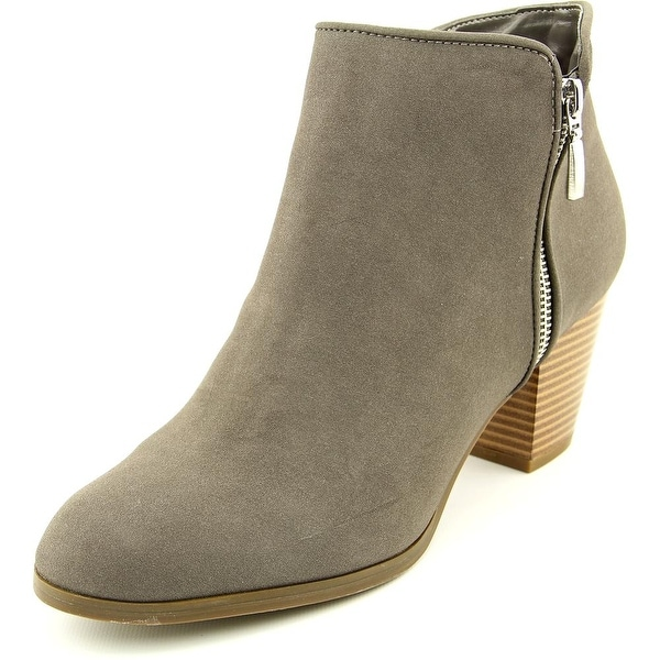 Style & Co Jamila Women Round Toe Synthetic Gray Ankle Boot