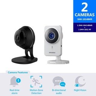 SNH-1014BMR - Samsung HD Plus WiFi IP Camera with 16GB microSD Card & Smartcam IP Camera (Refurbished)