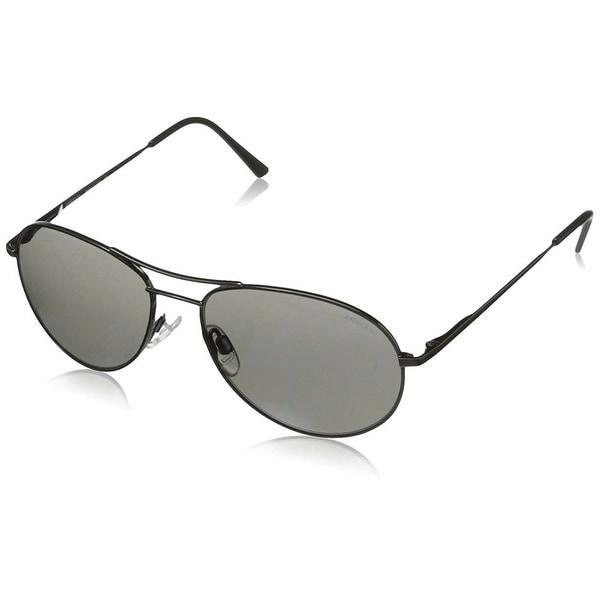6921211044e5 Shop Randolph Engineering Crew Chief II Skull 54mm Shiny Black Gray PC  Sunglasses - Free Shipping Today - Overstock - 20760076