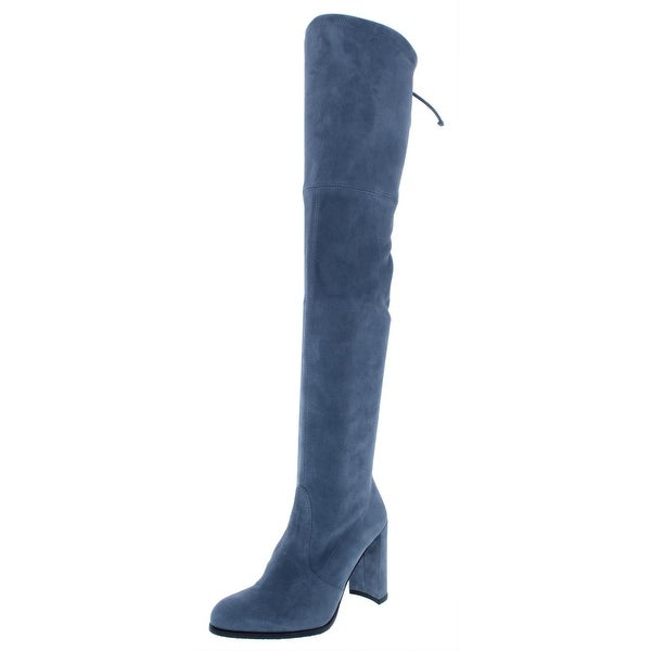 5d62c206b59 Shop Stuart Weitzman Womens Hiline Over-The-Knee Boots Suede High ...