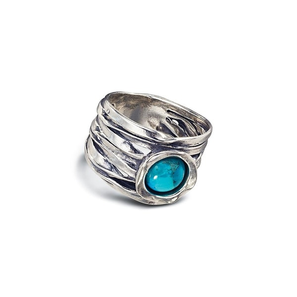 Women's Taos Turquoise Sterling Silver Ring