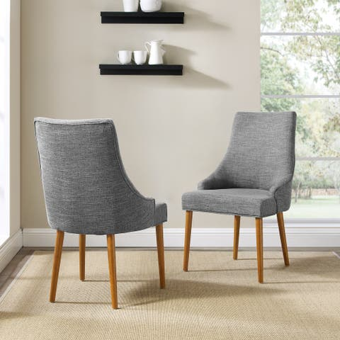 """Landon 2Pc Upholstered Dining Chairs - 35.5 """"H x 20.25""""W x 25.38""""D"""