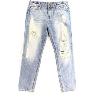 DL1961 NEW Blue Women's Size 30X29 Slim Skinny Distressed Jeans