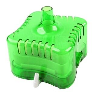 Unique Bargains Bio Sponge Fish Tank Aquarium Internal Filter Cartridge Clear Green