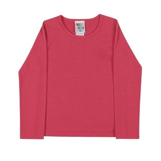 Toddler Girl Long Sleeve T-Shirt Little Girls Classic Tee Pulla Bulla 1-3 Years