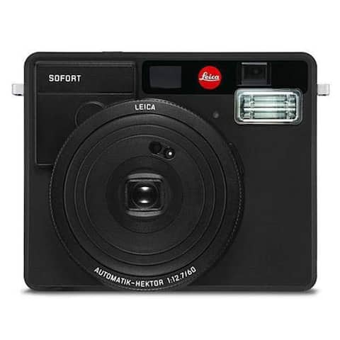 Leica Sofort Instant Film Camera (Black)