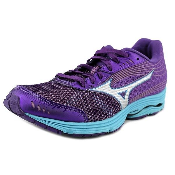 Mizuno Wave Sayonara 3 Women W Round Toe Synthetic Purple Running Shoe