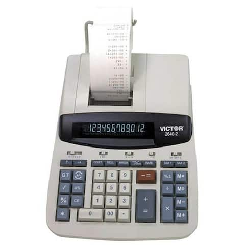 Victor Two Color Printing Calculator Printing Calculator