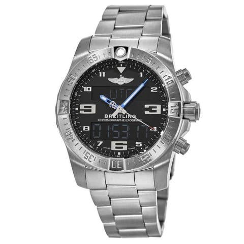 Breitling Men's EB5510H2-BE79-181E 'Exospace' Titanium Watch - Black