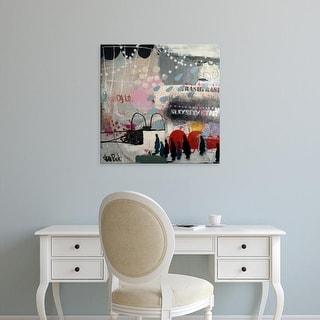 Easy Art Prints Sean Punk's 'Travel' Premium Canvas Art