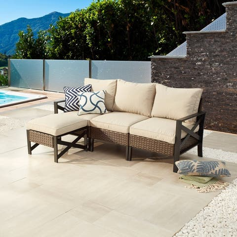 X-Arm 4-Piece Outdoor Sectional Set