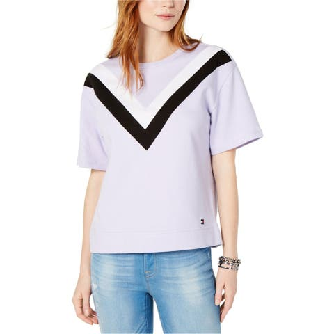 Tommy Hilfiger Womens Chevron Sweatshirt