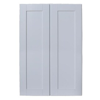 """Sunny Wood SHW2742-A Shaker Hill 27"""" x 42"""" Double Door Wall Cabinet"""