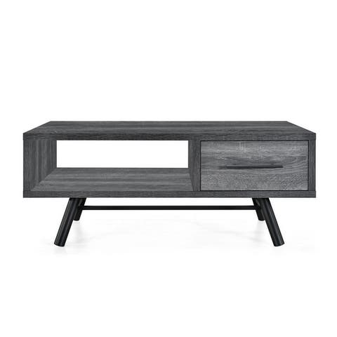 Elize Faux Wood Coffee Table by Christopher Knight Home