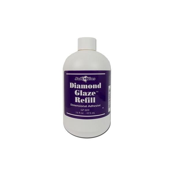 Judikins Diamond Glaze Dimensional Adh Refill 16oz
