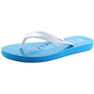 Betsey Johnson Amy Women  Open Toe Synthetic  Flip Flop Sandal