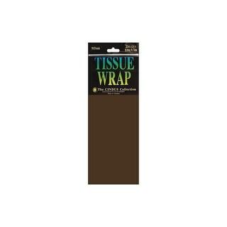 Cindus Tissue Wrap 20x20 10pc Solid Brown
