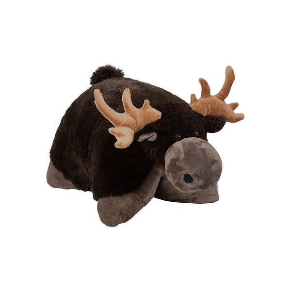 "18"" Chocolate Moose Pillow Pet"