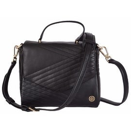 NEW Tory Burch $495 31159693 Mini Leather 797 Quilted Convertible Satchel Purse