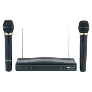 Naxa Professional Wireless Karaoke 2 Microphone System NAM-984