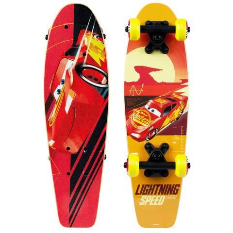 """PlayWheels Disney Cars Kids 21"""" Complete Skateboard"""
