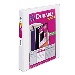 Avery 17012 1 Inch White Durable Reference View Binder View Binder 1 Inch Wht