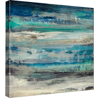 """PTM Images 9-98903  PTM Canvas Collection 12"""" x 12"""" - """"Open Sky 1"""" Giclee Abstract Art Print on Canvas"""