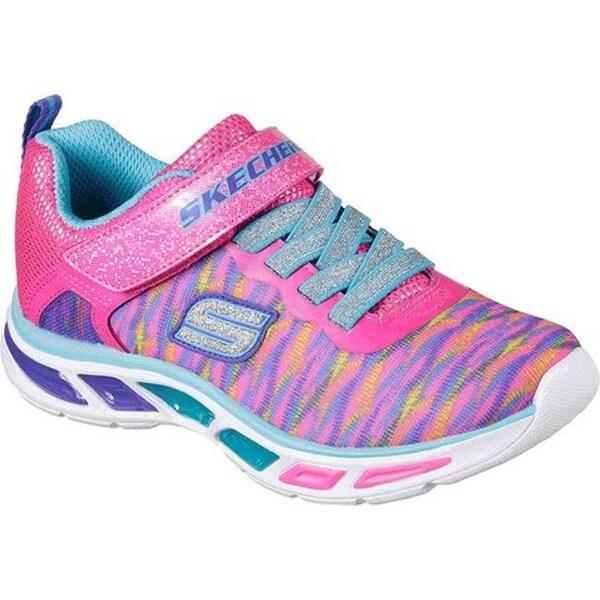 Shop Skechers Girls' S Lights Litebeams Colorburst Sneaker