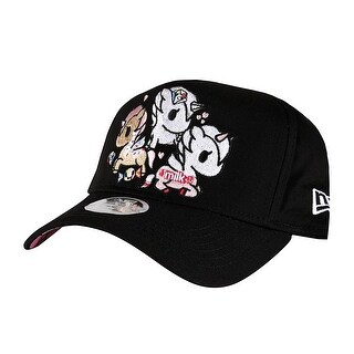 Tokidoki  Embroidered Blossom Ponies New Era 9Forty Women's Black Snapback Hat
