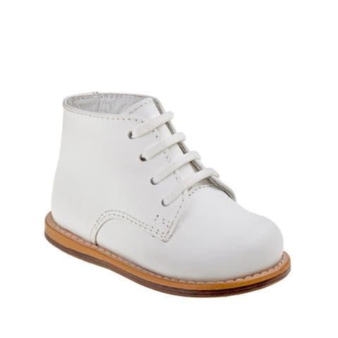 Josmo Unisex White Hard Sole Cushioned Wide Size Walker Shoes