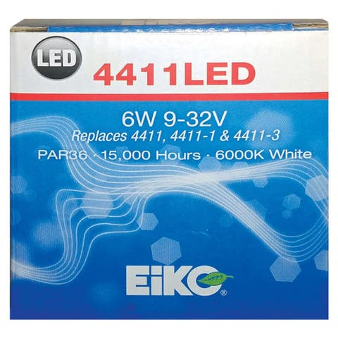 Eiko 4411LED LED Sealed Beam Automotive Bulb, 32 Volt